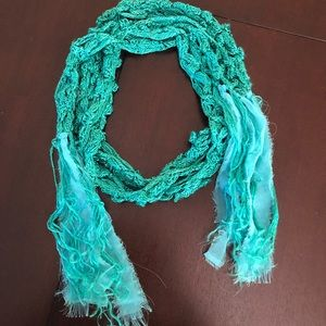 Urban Outfitters Turquoise Scarf 🍀{3 for$25}
